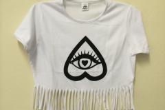 T-shirt Kerol-D con frange (2)